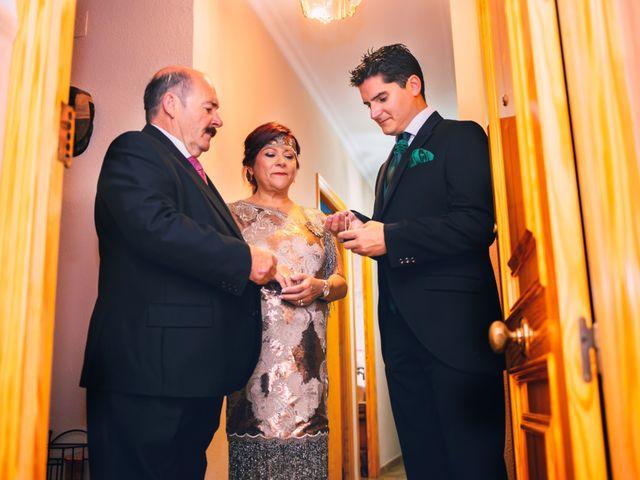 La boda de Juanfe y Sara en Puebla De Sancho Perez, Badajoz 4