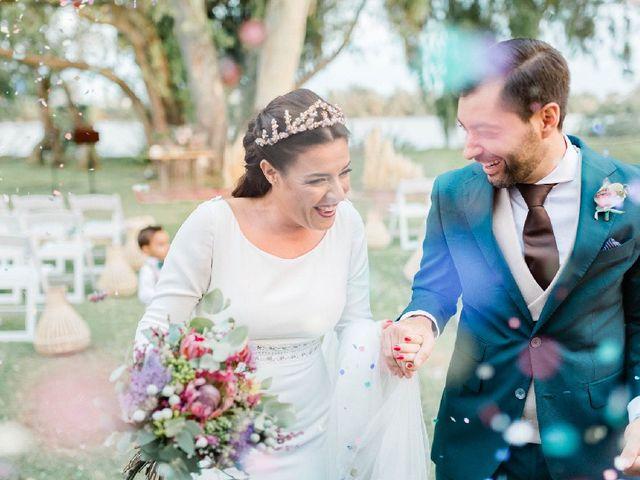 La boda de Luis  y Belén  en Coria Del Rio, Sevilla 25