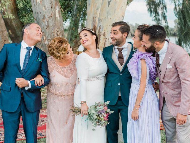 La boda de Luis  y Belén  en Coria Del Rio, Sevilla 28