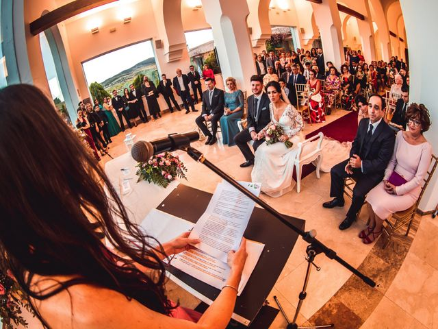 La boda de Javi y Laura en Villamena, Granada 24