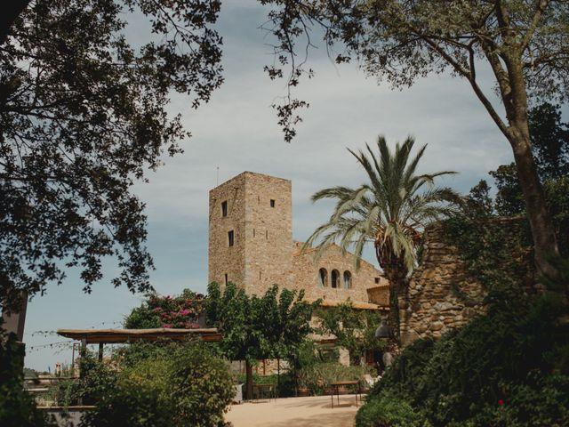 La boda de David y Ayaka en Castell D'emporda, Girona 2