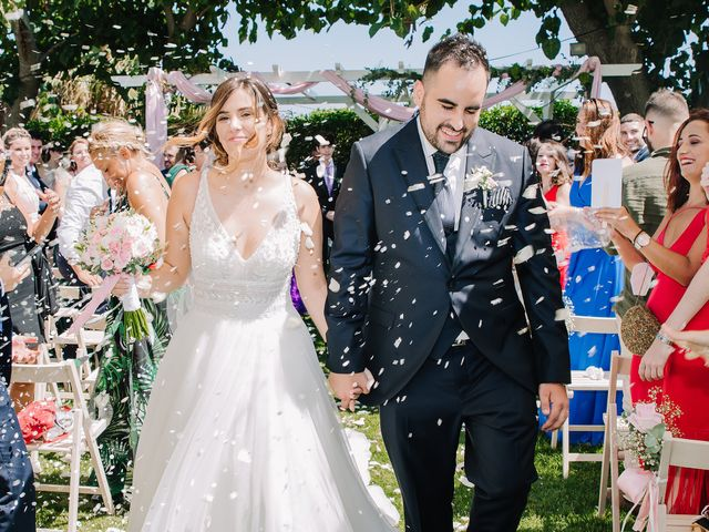 La boda de Rubén y Desi en Cambrils, Tarragona 40