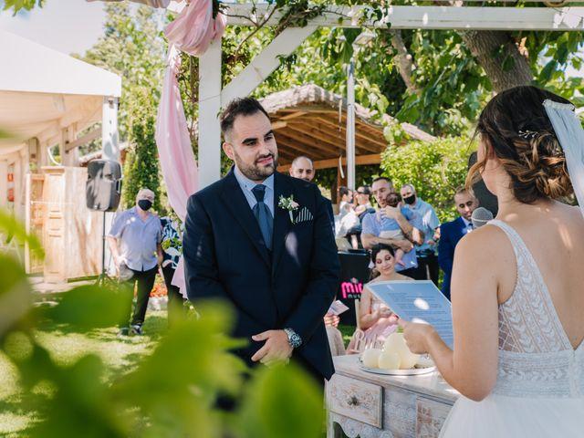 La boda de Rubén y Desi en Cambrils, Tarragona 45