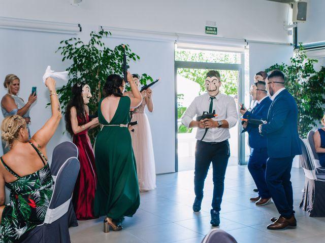 La boda de Rubén y Desi en Cambrils, Tarragona 52