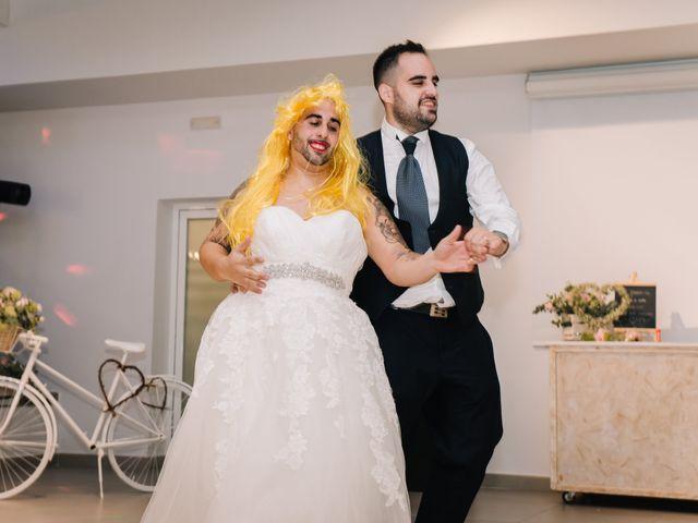 La boda de Rubén y Desi en Cambrils, Tarragona 75