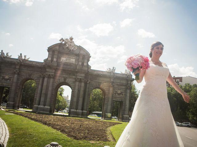 La boda de Pablo y Ane en Madrid, Madrid 1