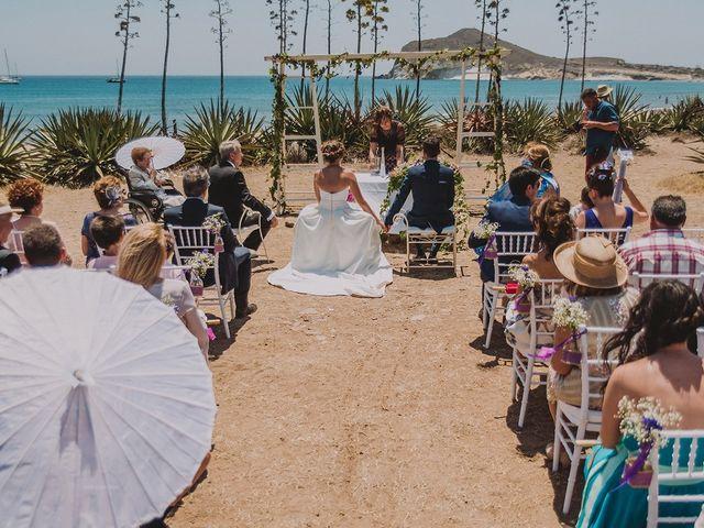 La boda de Javier y Laura en San Jose, Almería 2