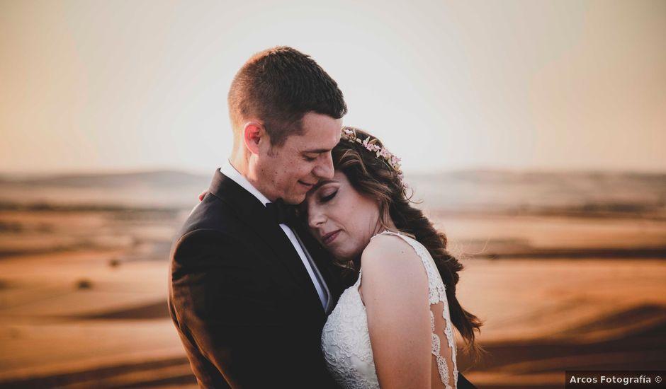 La boda de Nuria y Manuel en Caracuel De Calatrava, Ciudad Real