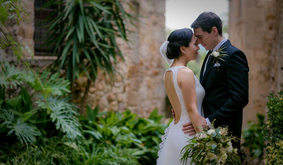 La boda de David y Ayaka en Castell D'emporda, Girona