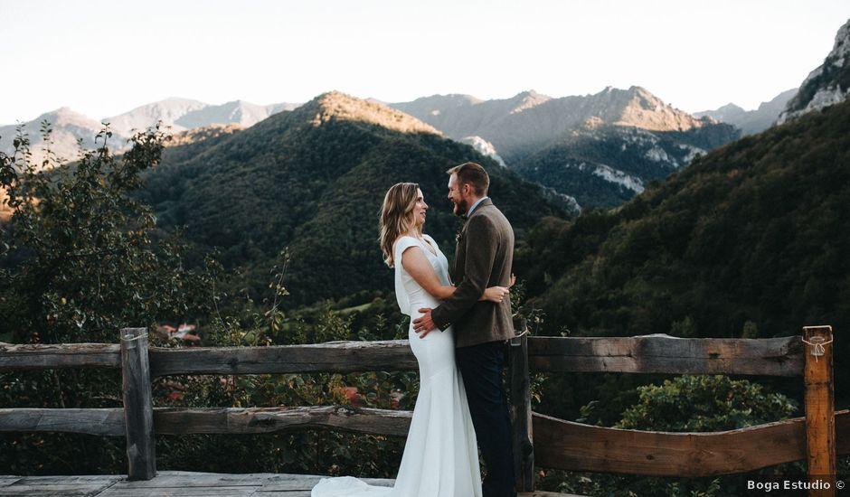 La boda de Trevor y Erin en Caleao, Asturias