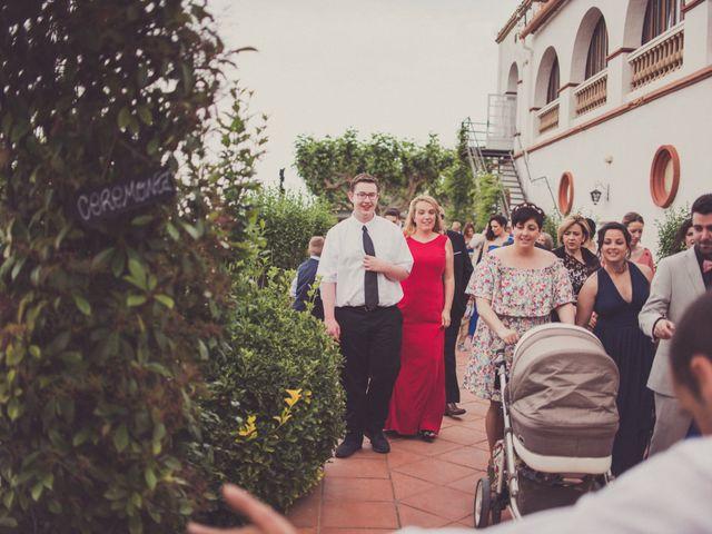 La boda de Jordi y Rocio en L' Ametlla Del Valles, Barcelona 70