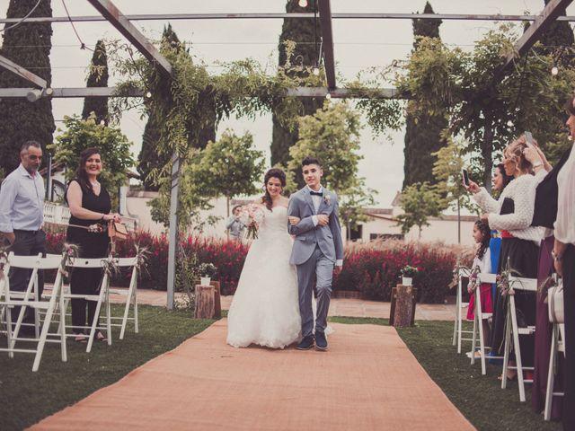 La boda de Jordi y Rocio en L' Ametlla Del Valles, Barcelona 85