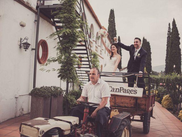 La boda de Jordi y Rocio en L' Ametlla Del Valles, Barcelona 161