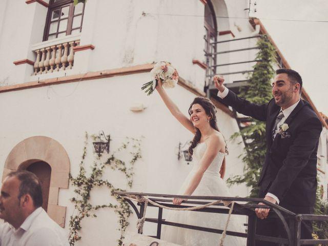 La boda de Jordi y Rocio en L' Ametlla Del Valles, Barcelona 1