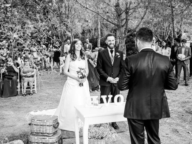 La boda de Gerard y Irene
