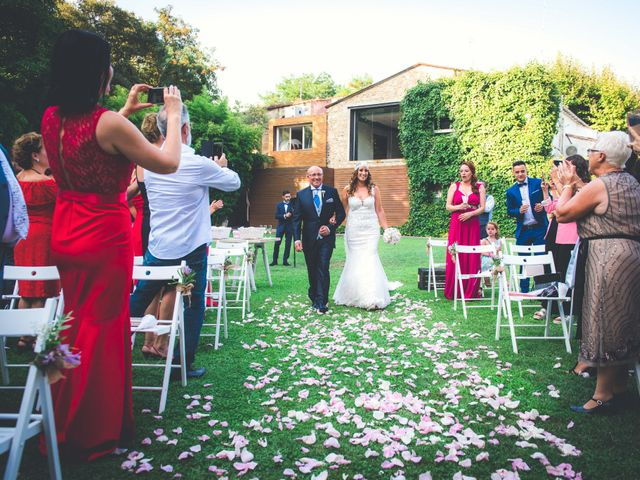 La boda de Jota y Melodi en Sant Fost De Campsentelles, Barcelona 4