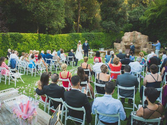 La boda de Jota y Melodi en Sant Fost De Campsentelles, Barcelona 6