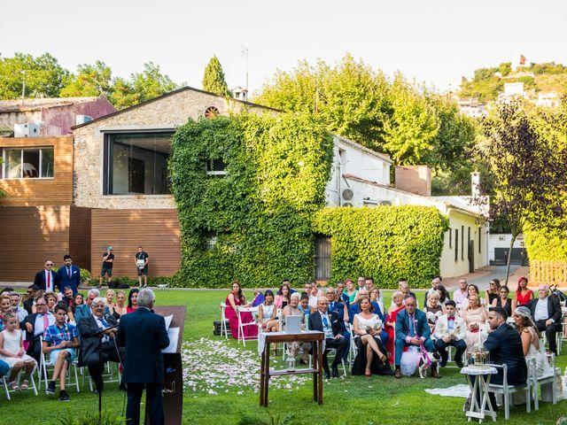 La boda de Jota y Melodi en Sant Fost De Campsentelles, Barcelona 7