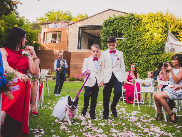 La boda de Jota y Melodi en Sant Fost De Campsentelles, Barcelona 11