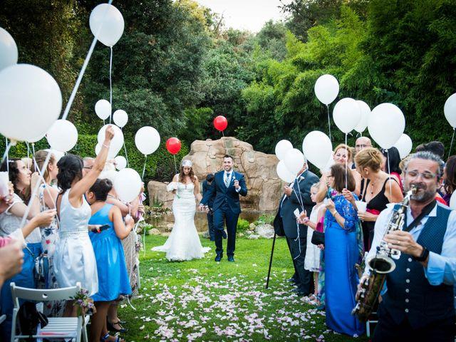 La boda de Jota y Melodi en Sant Fost De Campsentelles, Barcelona 14