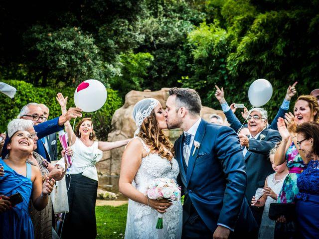 La boda de Jota y Melodi en Sant Fost De Campsentelles, Barcelona 17