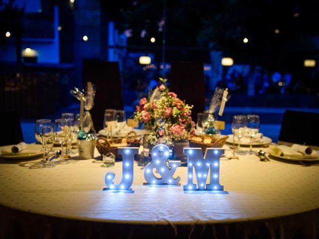 La boda de Jota y Melodi en Sant Fost De Campsentelles, Barcelona 37