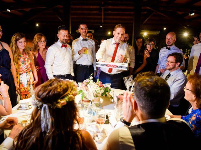 La boda de Jota y Melodi en Sant Fost De Campsentelles, Barcelona 54