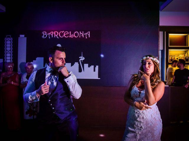 La boda de Jota y Melodi en Sant Fost De Campsentelles, Barcelona 59