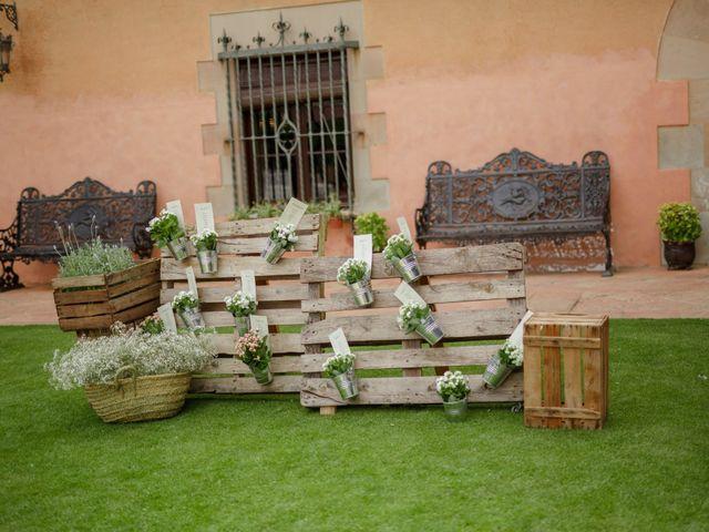 La boda de Jordi y Belinda en La Garriga, Barcelona 17