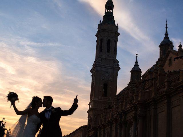 La boda de Saúl y Carol en Zaragoza, Zaragoza 1