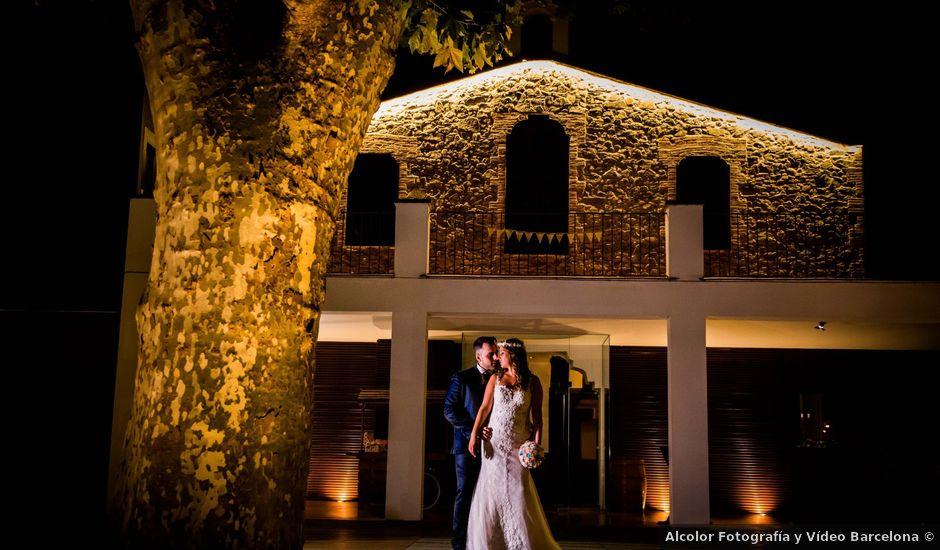La boda de Jota y Melodi en Sant Fost De Campsentelles, Barcelona