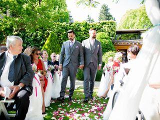 La boda de Andreas Melin y Alexandre Gregorio 1
