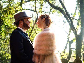 La boda de Iris y David