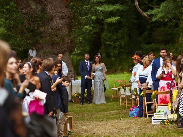 La boda de Juampe y Cris en A Baña, A Coruña 39