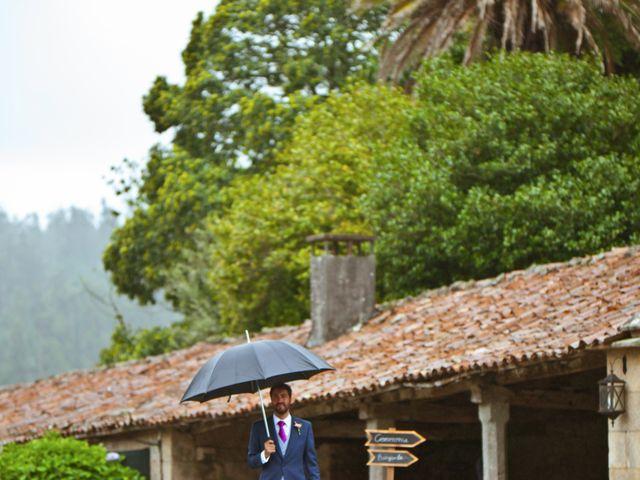La boda de Juampe y Cris en A Baña, A Coruña 2