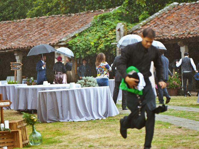 La boda de Juampe y Cris en A Baña, A Coruña 43