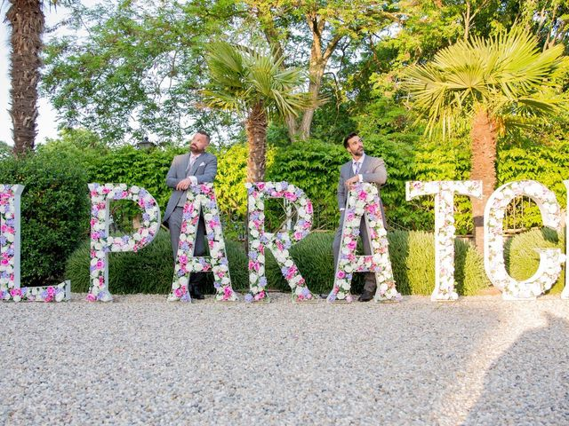 La boda de Andreas Melin y Alexandre Gregorio