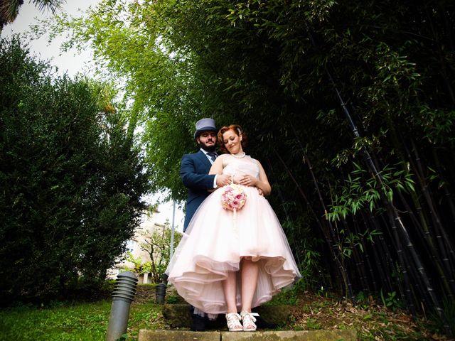 La boda de David y Iris en Redondela, Pontevedra 44