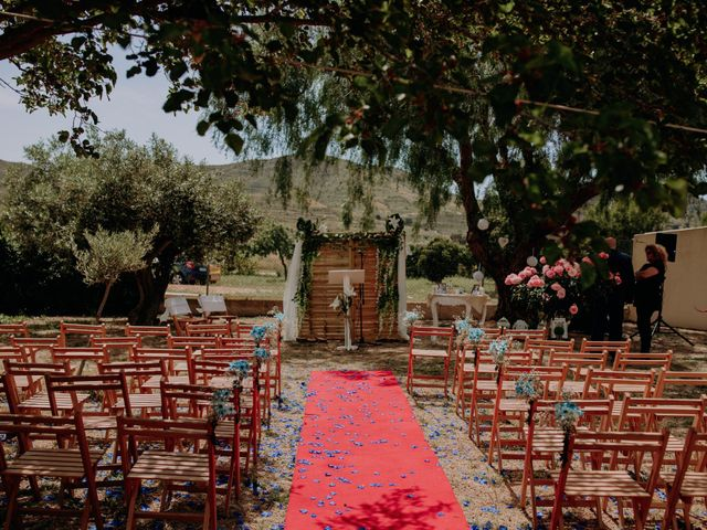 La boda de Joanne y Ismael en Las Palas, Murcia 2
