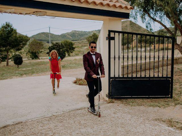 La boda de Joanne y Ismael en Las Palas, Murcia 9