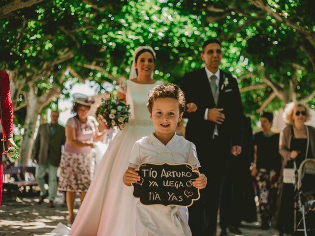 La boda de Arturo y Yasmina en Cuarte De Huerva, Zaragoza 34