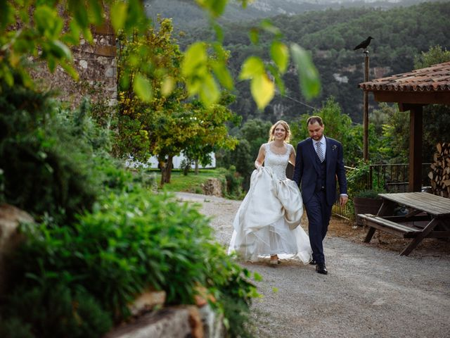 La boda de Martin y Daniela en Tagamanent, Barcelona 122