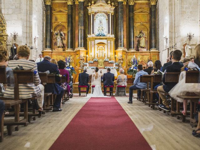 La boda de Roberto y Verónica  en Ampudia, Palencia 2