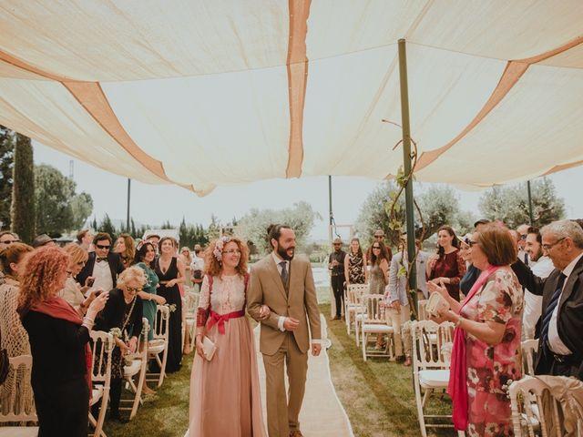 La boda de Chema y Lucía en Granada, Granada 21