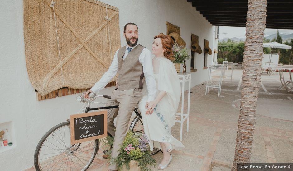La boda de Chema y Lucía en Granada, Granada