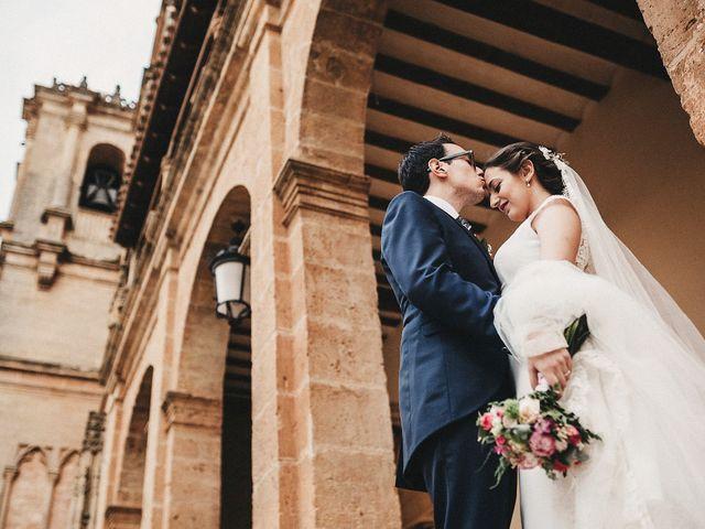 La boda de David y Prado en Salobre, Albacete 34