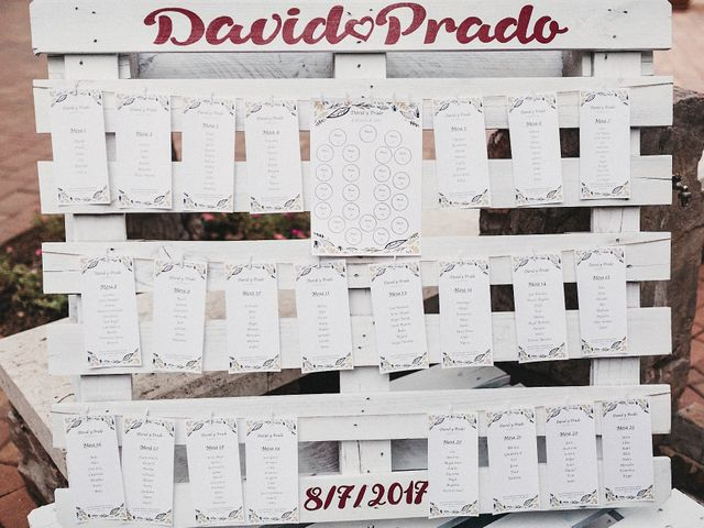 La boda de David y Prado en Salobre, Albacete 42
