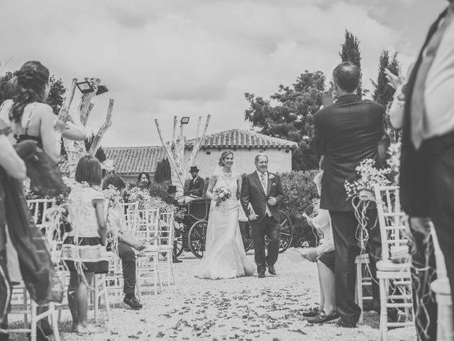 La boda de Javier y María en Chinchon, Madrid 48