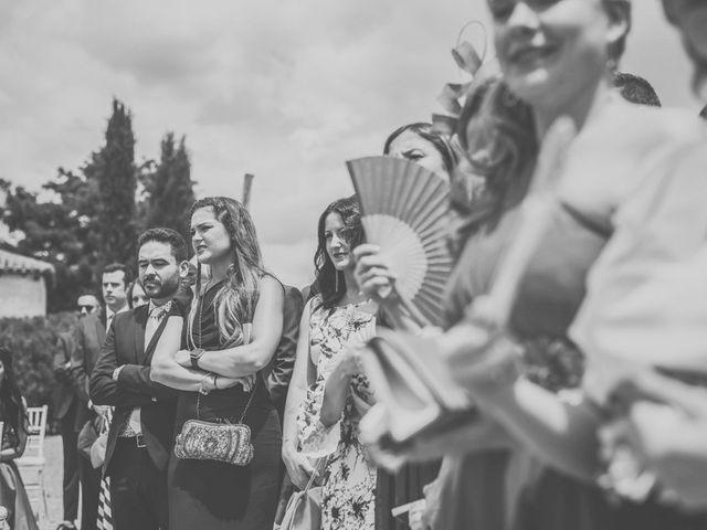La boda de Javier y María en Chinchon, Madrid 50