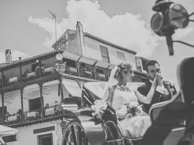 La boda de Javier y María en Chinchon, Madrid 66
